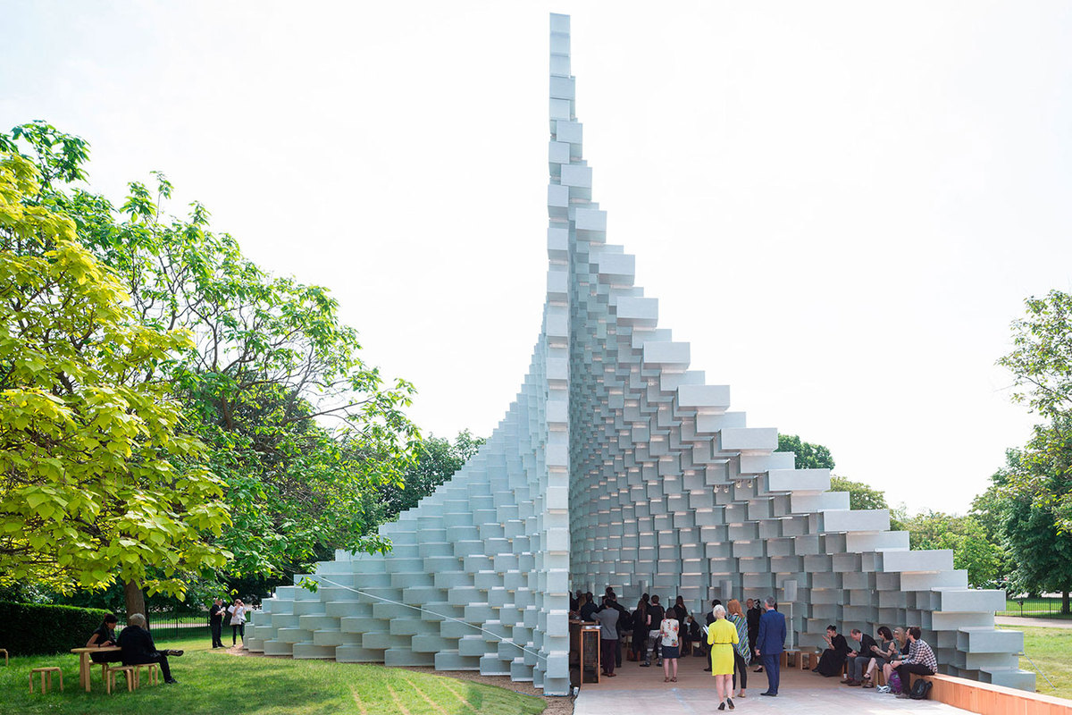 serie de arquitectura Abstract edificio sostenible en la serie abstract